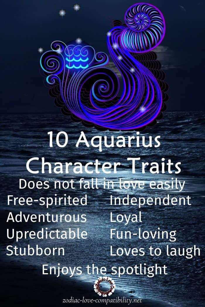 Traits of an aquarius sexually