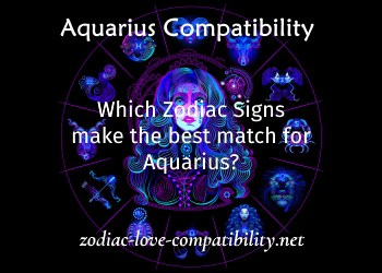 which zodiac signs make the best match for aquarius