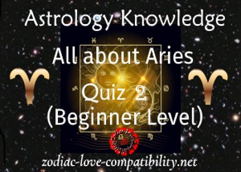 Aries Quiz – Astrology Knowledge Quiz 2 (Beginner Level)