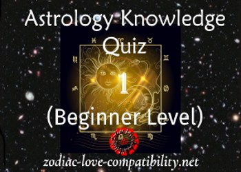 Test Your Astrology Knowledge: Quiz 1 (Beginner Level)