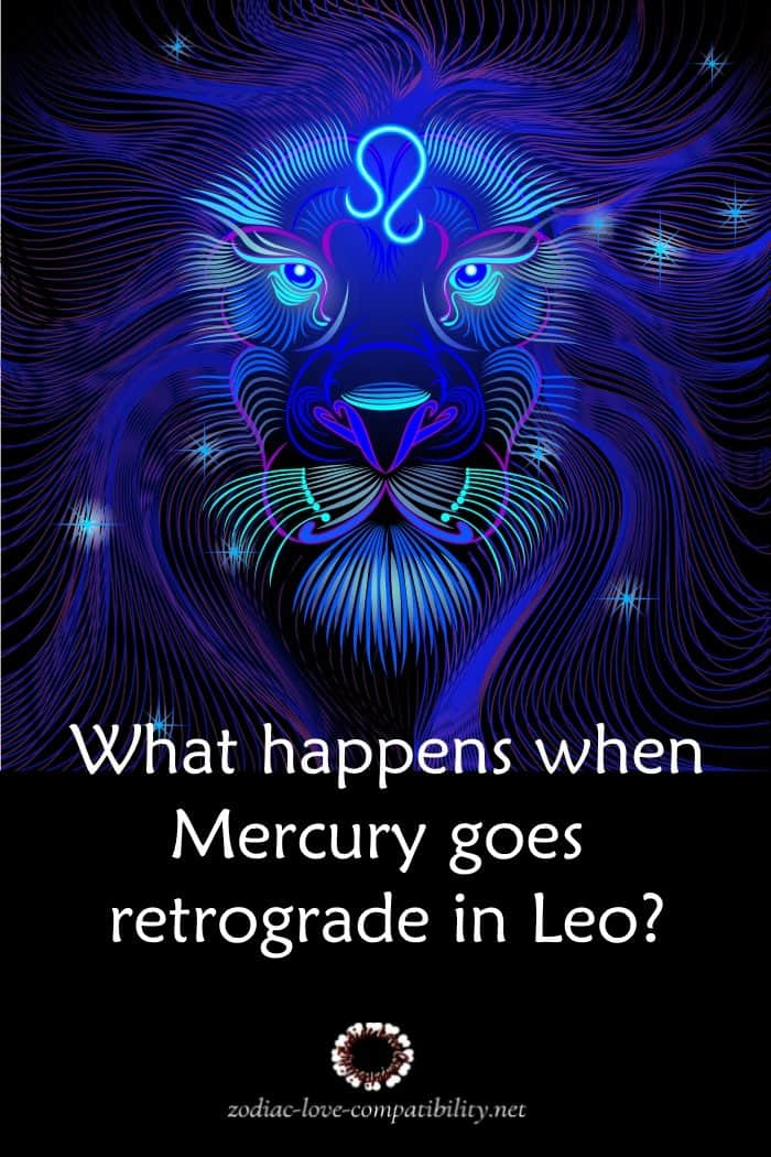 mercury goes retrograde in leo