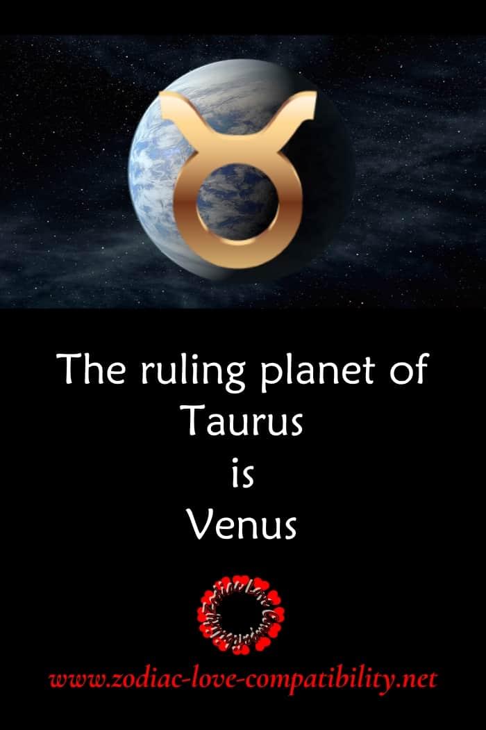 venus rules taurus
