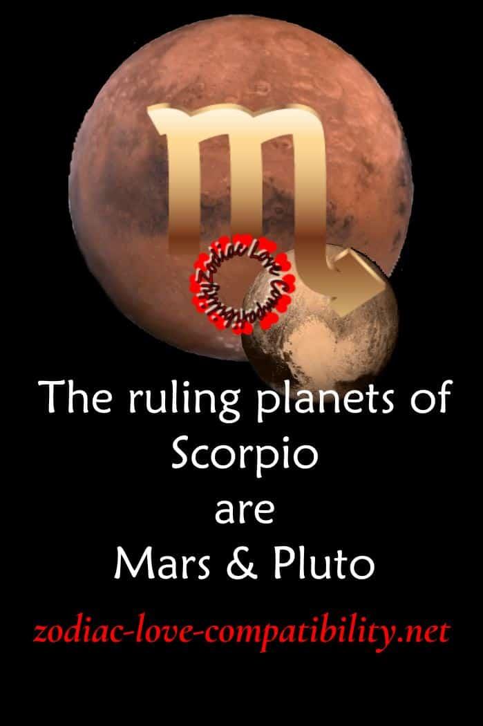 ruling planet of scorpio